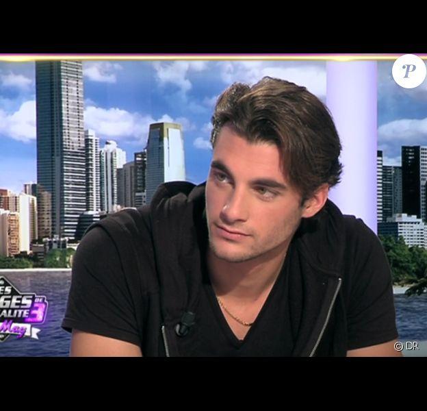 Marvin dans les Anges de la télé-réalité - Le mag, mardi 11 octobre 2011 sur NRJ 12