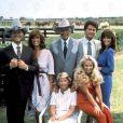 Le casting orginal de  Dallas , en 1978.