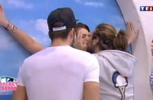Secret Story 5 : Baisers torrides pour Rudy et Aurélie, soirée T-shirts mouillés
