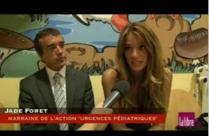 Jade Foret, fiancée d'Arnaud Lagardère, enceinte ? 'Non. Enfin, peut-être.'
