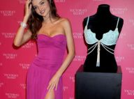 Miranda Kerr présente son bijou lingerie à 2,5 millions de dollars...