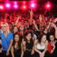 Les fans de Secret Story 5 au Duplex à Paris le vendredi 14 octobre 2011