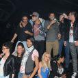 Daniel, Simon, Geof, Jonathan, Sabrina, Aurélie, Morgan, Juliette et Ayem de Secret Story 5 au Métropolis à Rungis le samedi 15 octobre 2011
