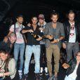 Les candidats de Secret Story 5 au Métropolis à Rungis le samedi 15 octobre 2011