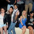 Sabrina, Aurélie, Morgan, Juliette et Ayem de Secret Story 5 au Métropolis à Rungis le samedi 15 octobre 2011