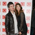 Noel Gallagher et son épouse Sarah lors des Q Awards à Londres le 24 octobre 2011
