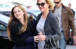 Melanie Griffith et Antonio Banderas : Doux moment de complicité avec leur fille