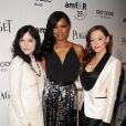 Selma Blair, Garcelle Beauvais et Rose McGowan lors de la soirée amfAR organisée à Los Angeles le 27 octobre 2011
