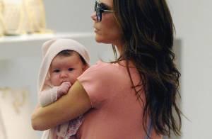 Victoria Beckham : moment mère fille avec la petite Harper, future Gossip Girl