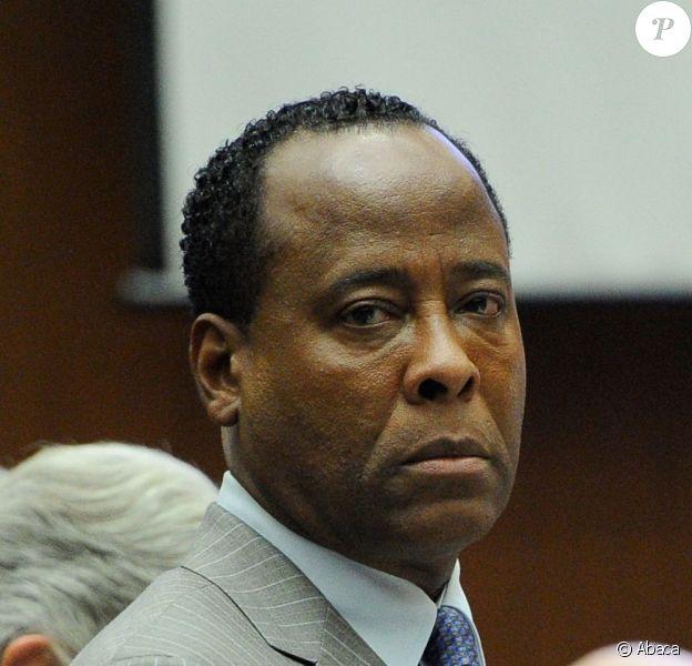 Procès du docteur Conrad Murray à Los Angeles le 1er novembre 2011 - ici Conrad Murray
