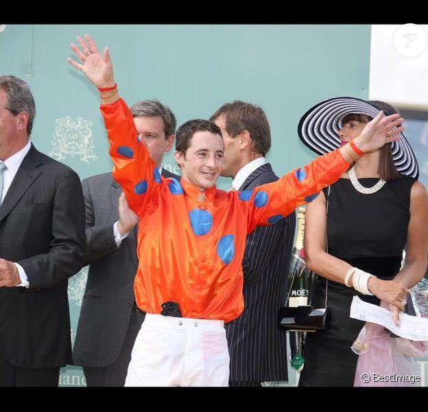 Christophe-Patrice Lemaire, le 14 juin 2009, lors du Grand Prix de Diane à Chantilly.