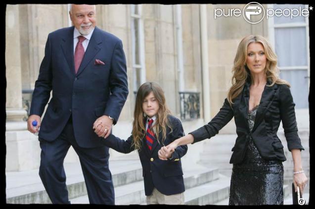 Céline Dion et René-Charles
