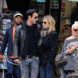 Justin Theroux et Jennifer Aniston à New York le 16 septembre 2011