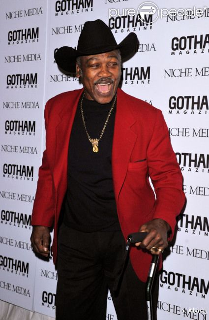 Joe Frazier le 18 novembre 2008 à New York
