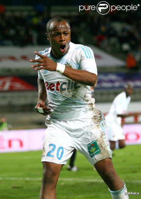 André Ayew le 6 novembre 2011 à Marseille