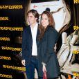 Anouchka Delon et Julien lors de l'avant-première de Rhum Express, le 8 novembre 2011, à Paris.