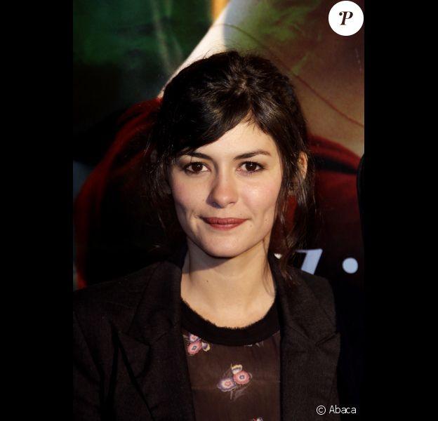 Audrey Tautou pour La Délicatesse au festival de Sarlat, le 8 novembre 2011.