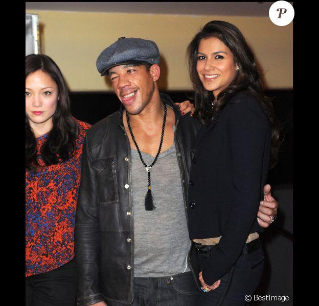 JoeyStarr et Catalina Denis pour Nuit Blanche à Paris le 8 novembre 2011.