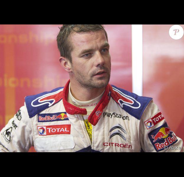 Sébastien Loeb le 29 octobre 2011 au Castellet