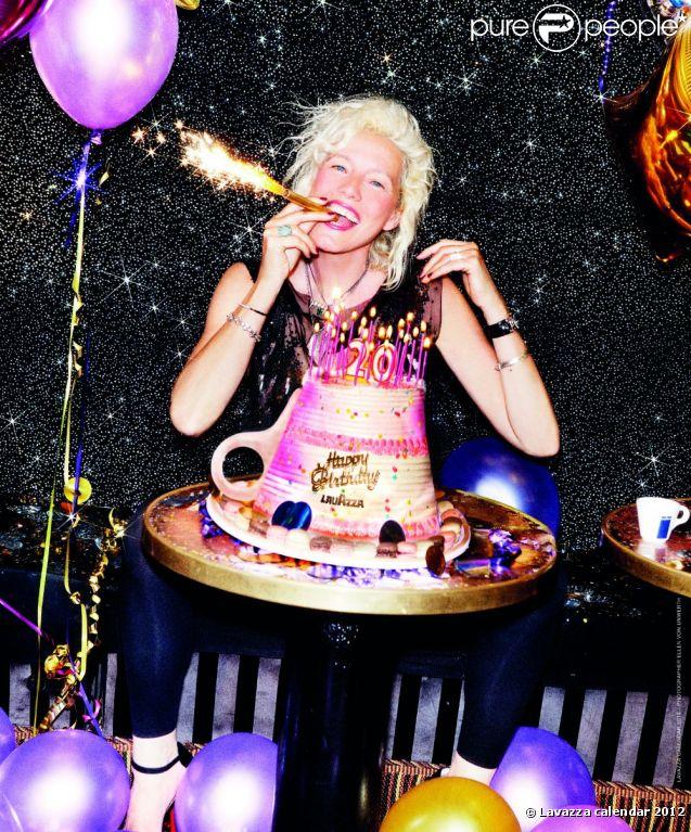Ellen von Unwerth pour le calendrier Lavazza 2012