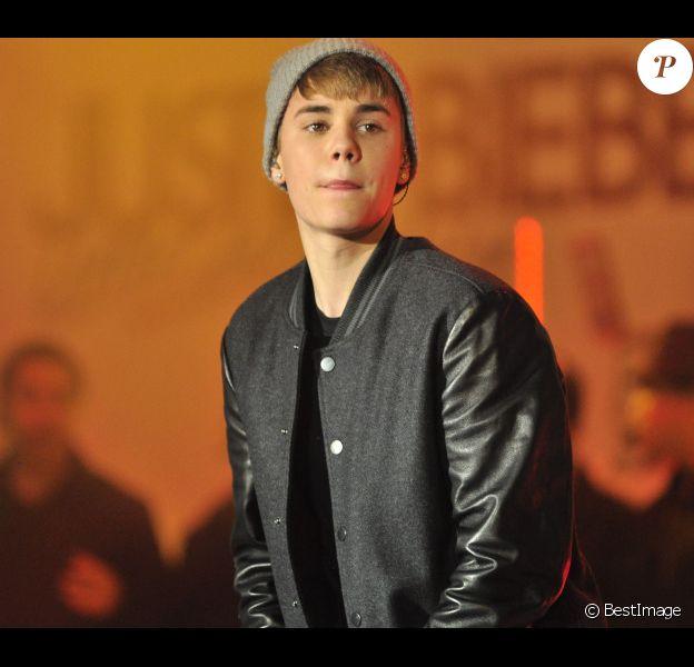 Justin Bieber à Londres, en novembre 2011.