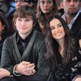 Demi Moore et Ashton Kutcher en octobre 2006 à Paris