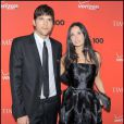 Demi Moore et Ashton Kutcher en mai 2010 à New York