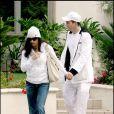 Demi Moore et Ashton Kutcher en décembre 2005