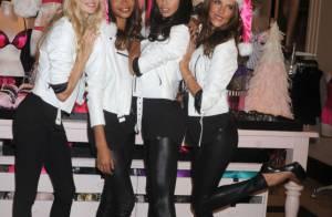 Victoria's Secret : Adriana, Chanel, Alessandra et Lindsay, des Miss Santa sexy
