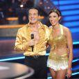 Francis Lalanne heureux et Silvia dans Danse avec les Stars 2 sur TF1