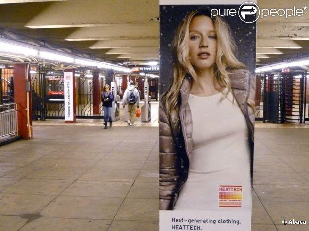 Ludivine Sagnier s'affiche à New York pour la campagne Uniqlo