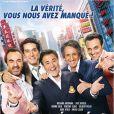 Affiche de La Vérité si je mens 3, en salles le 1er février 2012.