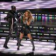La prestation des Black Eyed Peas à la mi-temps du SuperBowl à Dallas, le 6 février 2011.