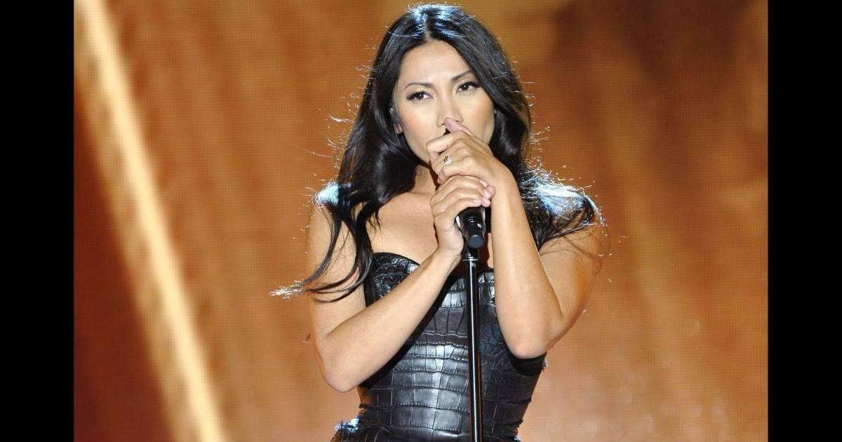 eurovision 2012 la belle anggun d fendra les couleurs de la france purepeople. Black Bedroom Furniture Sets. Home Design Ideas