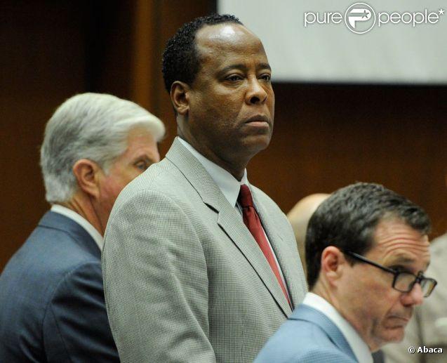 Conrad Murray lors de son procès le 3 novembre 2011