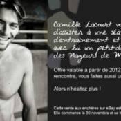 Téléthon 2011 : Alexandra Vandernoot et Camille Lacourt à prix discount...