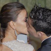 Cristiano Ronaldo et Irina Shayk ne peuvent pas se retenir de s'embrasser