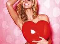 Erin Heatherton : L'Ange sexy est déjà à l'heure de la Saint-Valentin