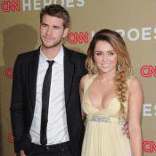 Miley Cyrus, sublime, dévoile un décolleté affriolant au bras de son amoureux