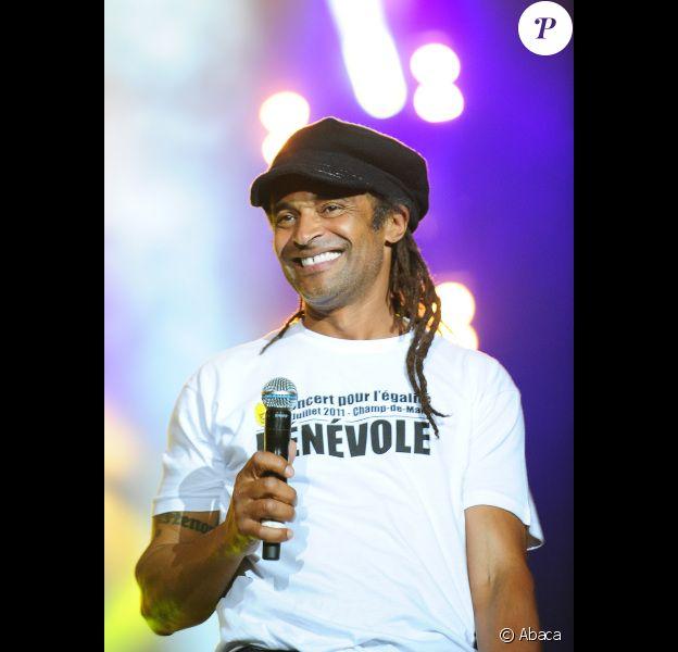 Yannick Noah le 14 juillet 2011 à Paris
