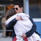 Tom Cruise, Suri et Katie : Câlins en pagaille, de tendres retrouvailles