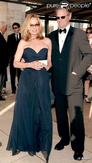 Jessica Lange et Sam Shepard à New York en avril 2007