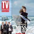Laury Thilleman en couverture de TV Mag