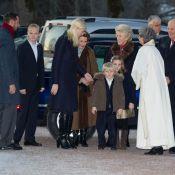 Le prince Sverre et la princesse Ingrid pas emballés par la messe de Noël...
