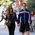 En juin 2010, Matthew et Camila ne peuvent se quitter même pendant une séance de sport à New York