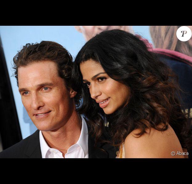 Matthew McConaughey et Camila Alves : Sublimes en avril 2009 à Los Angeles