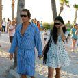 En octobre 2011, à Miami, les amoureux ne peuvent se quitter une seule seconde