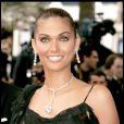 Amelia Vega à Cannes le 12 mai 2004