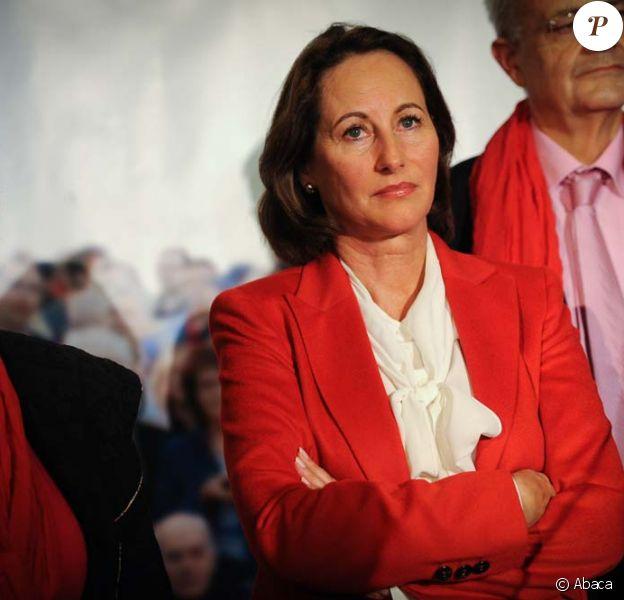 Ségolène Royal à Paris, le 9 octobre 2011. Selon le sondage VSD, elle est la personnalité politique qui agace le plus.