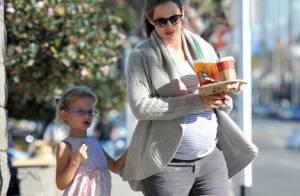 Jennifer Garner, enceinte : Pause sucrée avec Violet